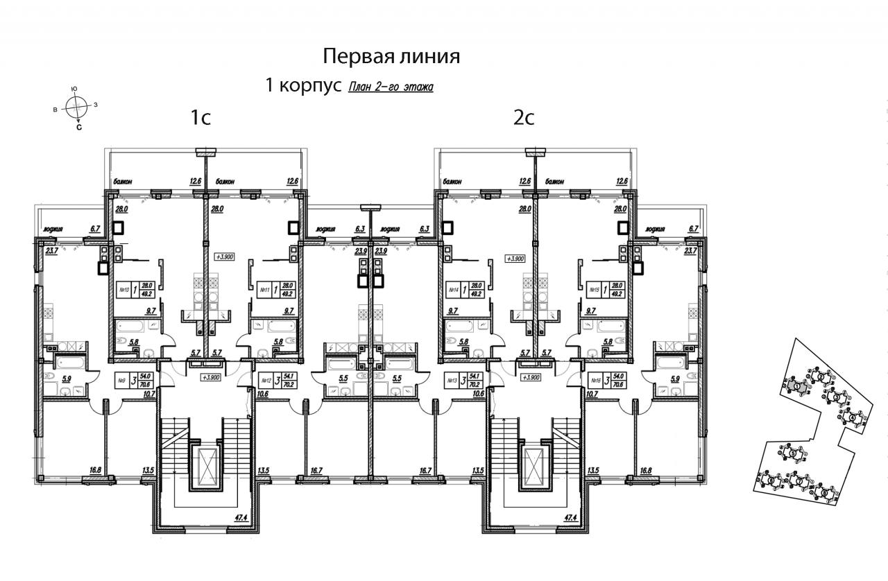Жилой комплекс«Первая Линия. Life Energy Resort»