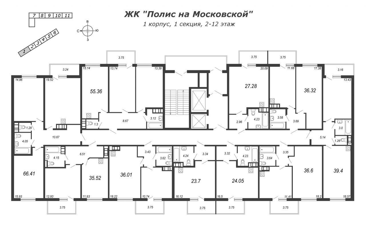 Жилой комплекс«Полис на Московской»